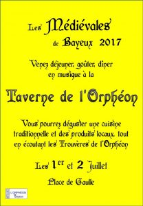 affiche et flyers 2017-2